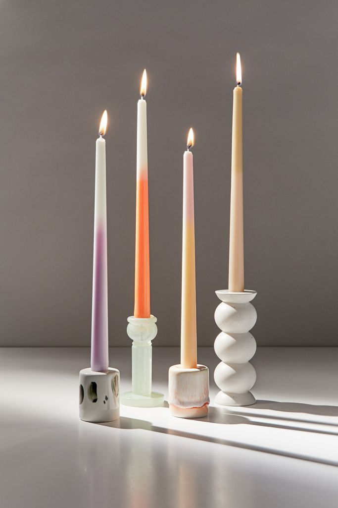 Urban Outfitters Ombré Taper Candle Set