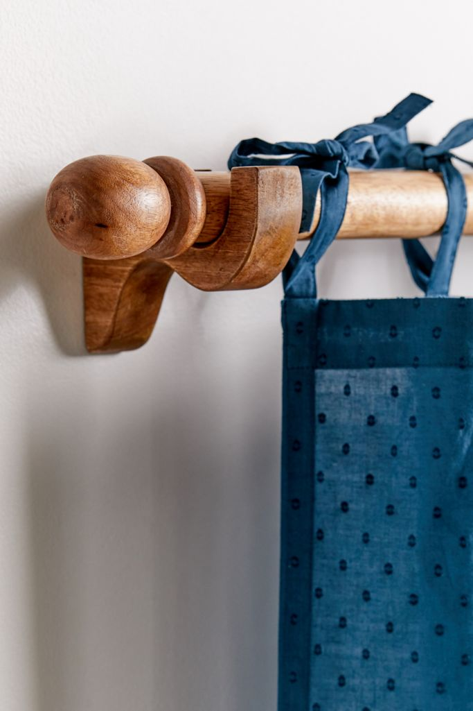 Urban Outfitters Mango Wood Curtain Rod