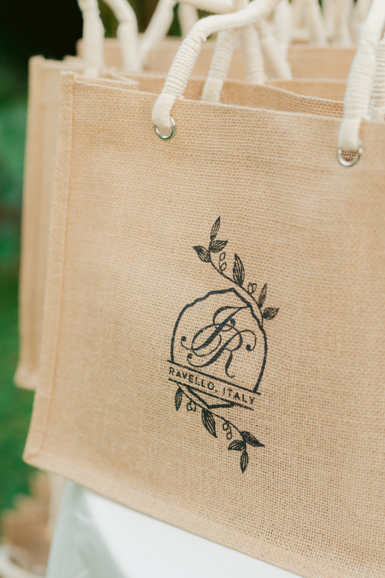 wedding favor tote bags