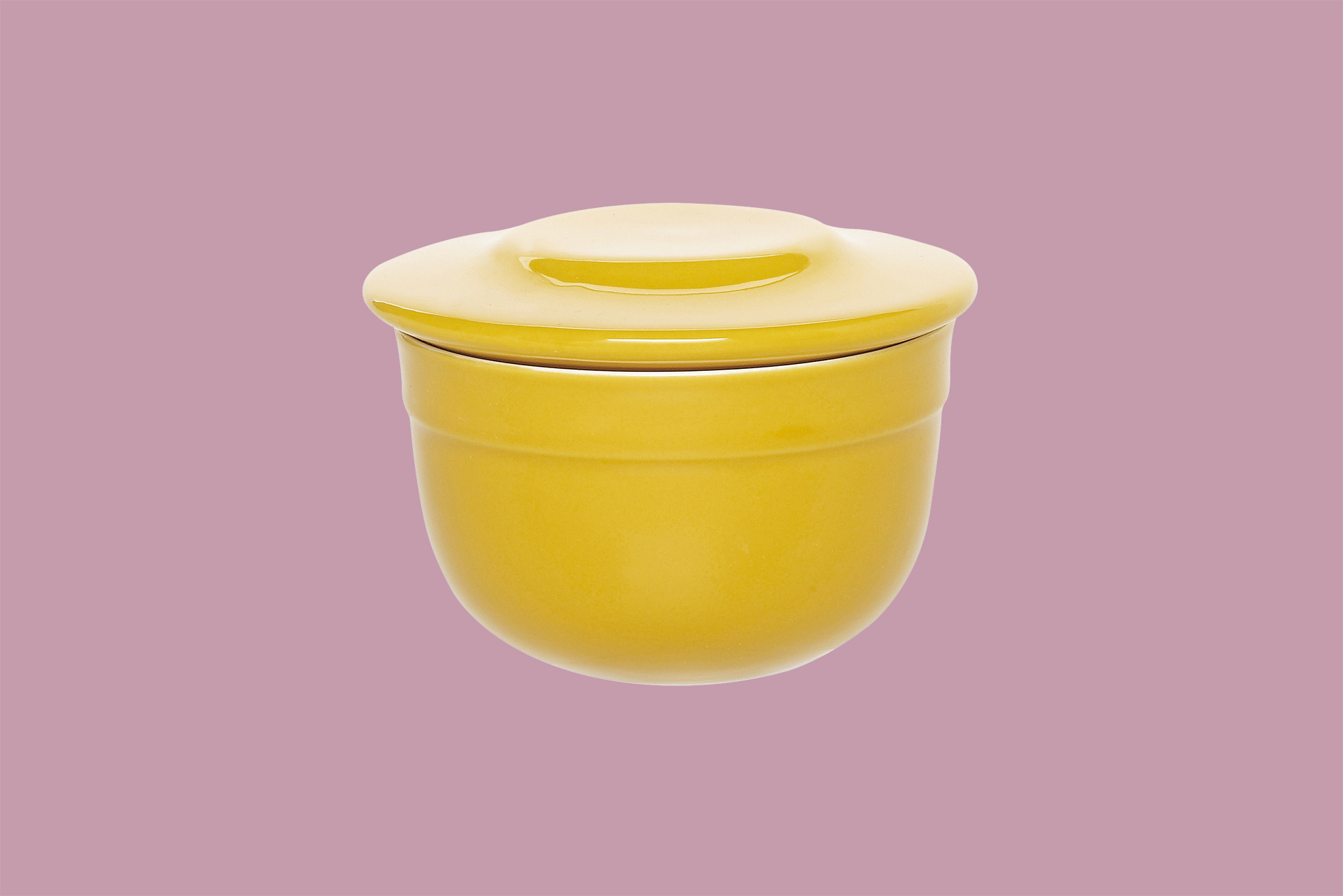 golden-hued butter pot
