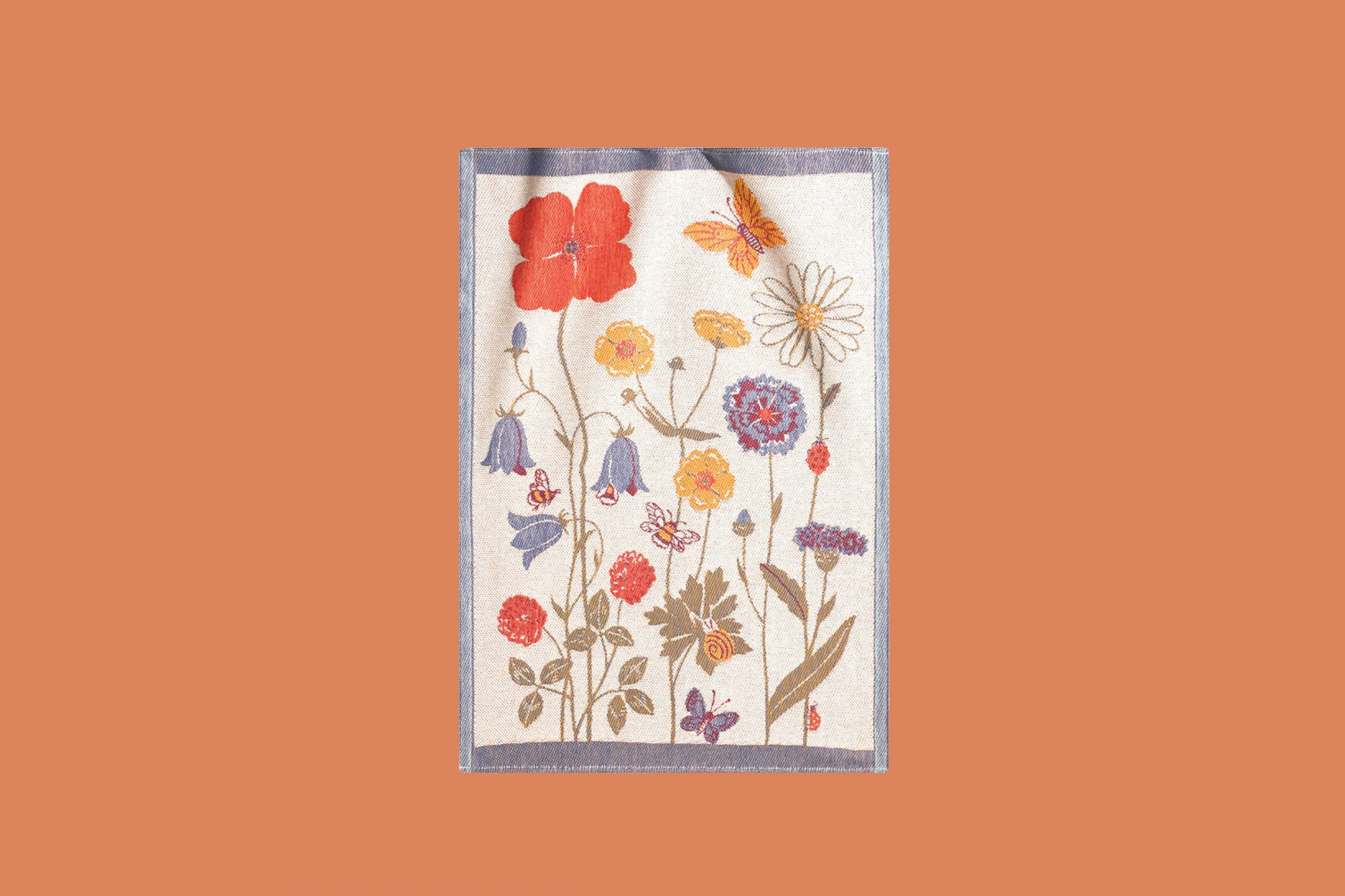 ekelund weavers angsblom tea towel