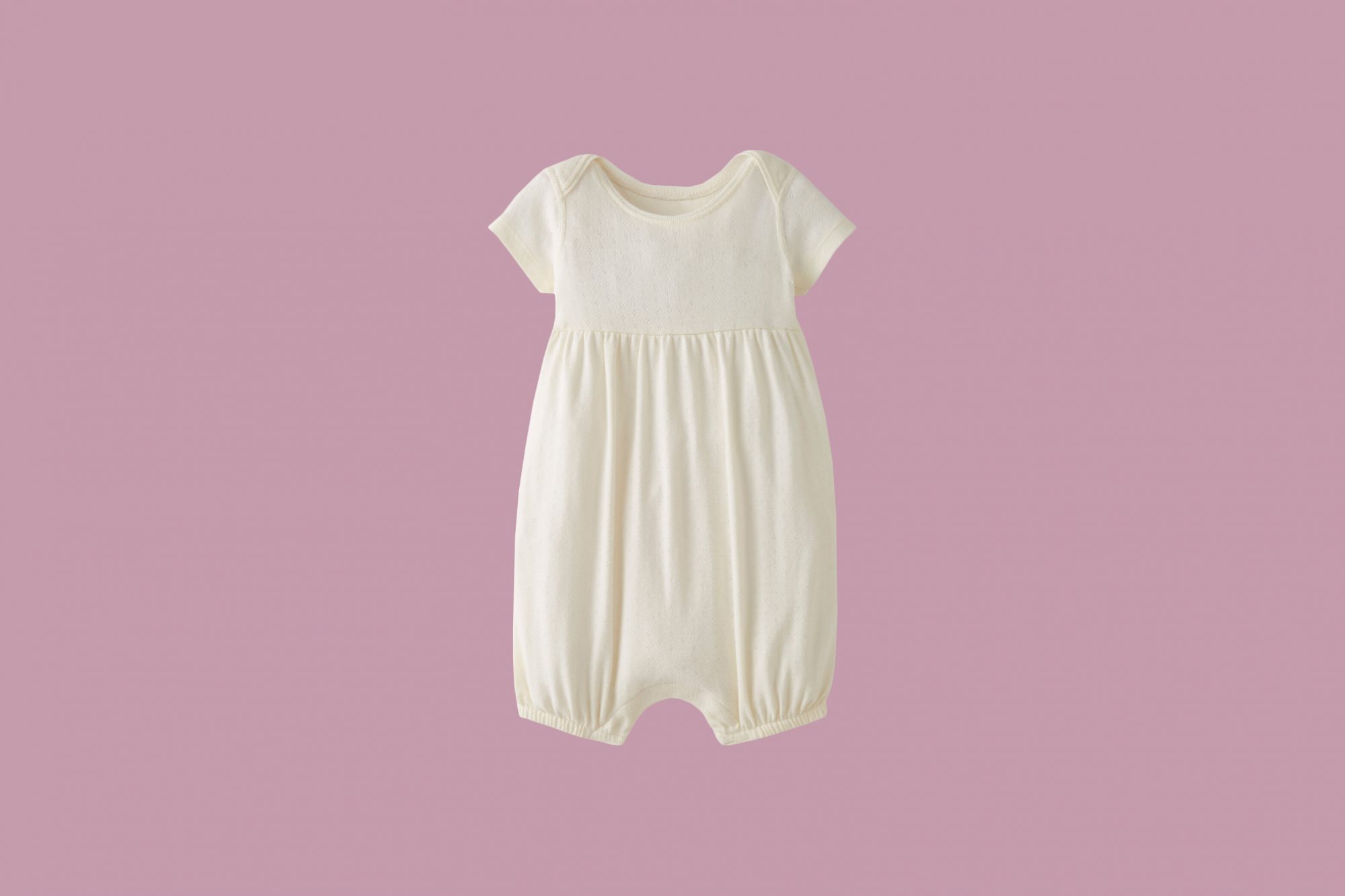 Romper in Organic Cotton