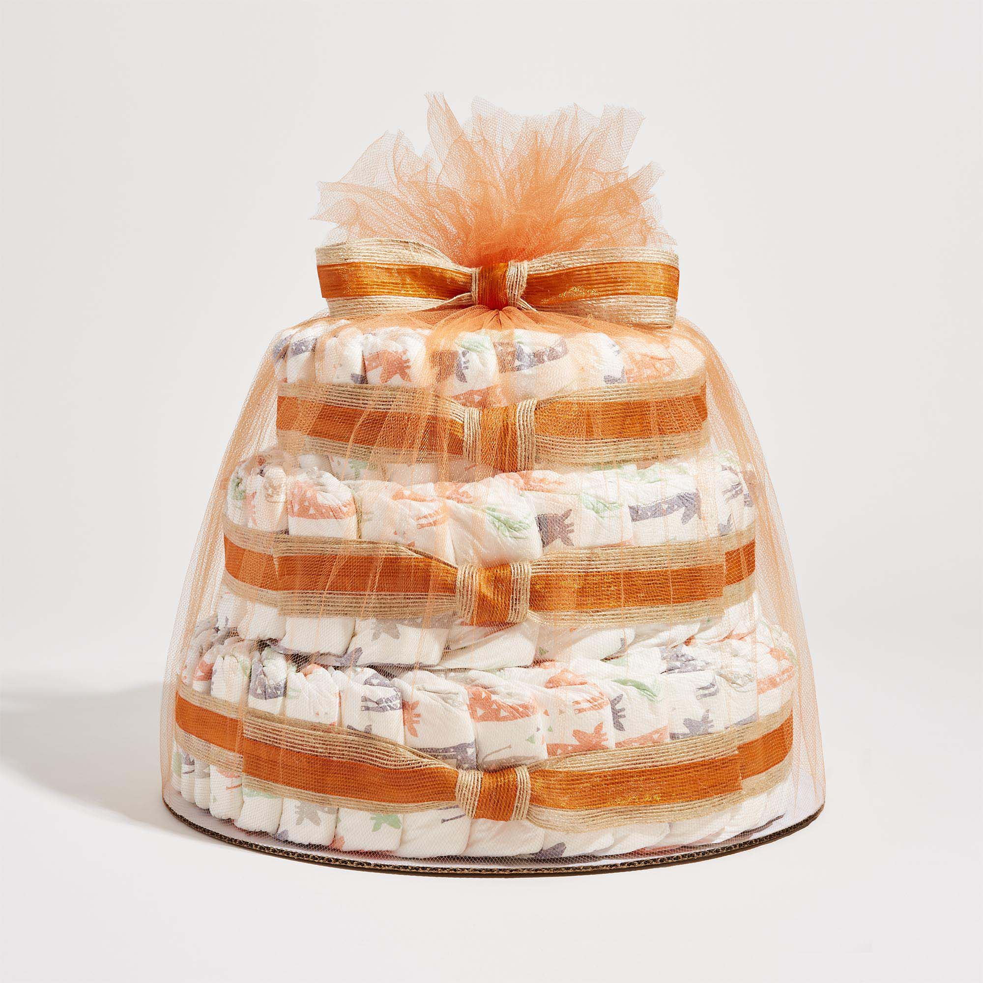The Honest Company Diaper Cake