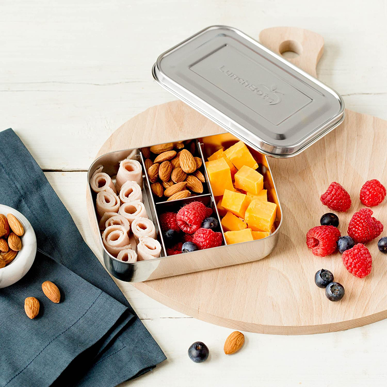 "LunchBots ""Small Protein Packer"" Toddler Bento Box"