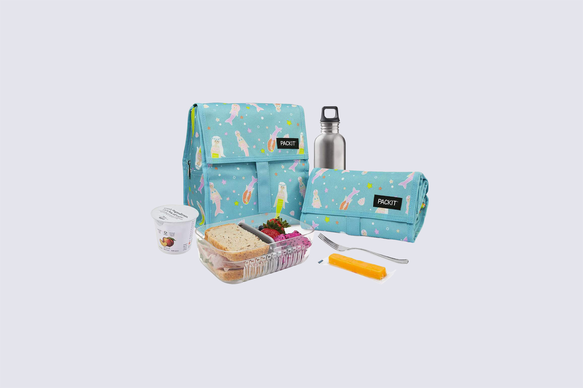 PackIt Freezable Lunch Bag in Mermaids