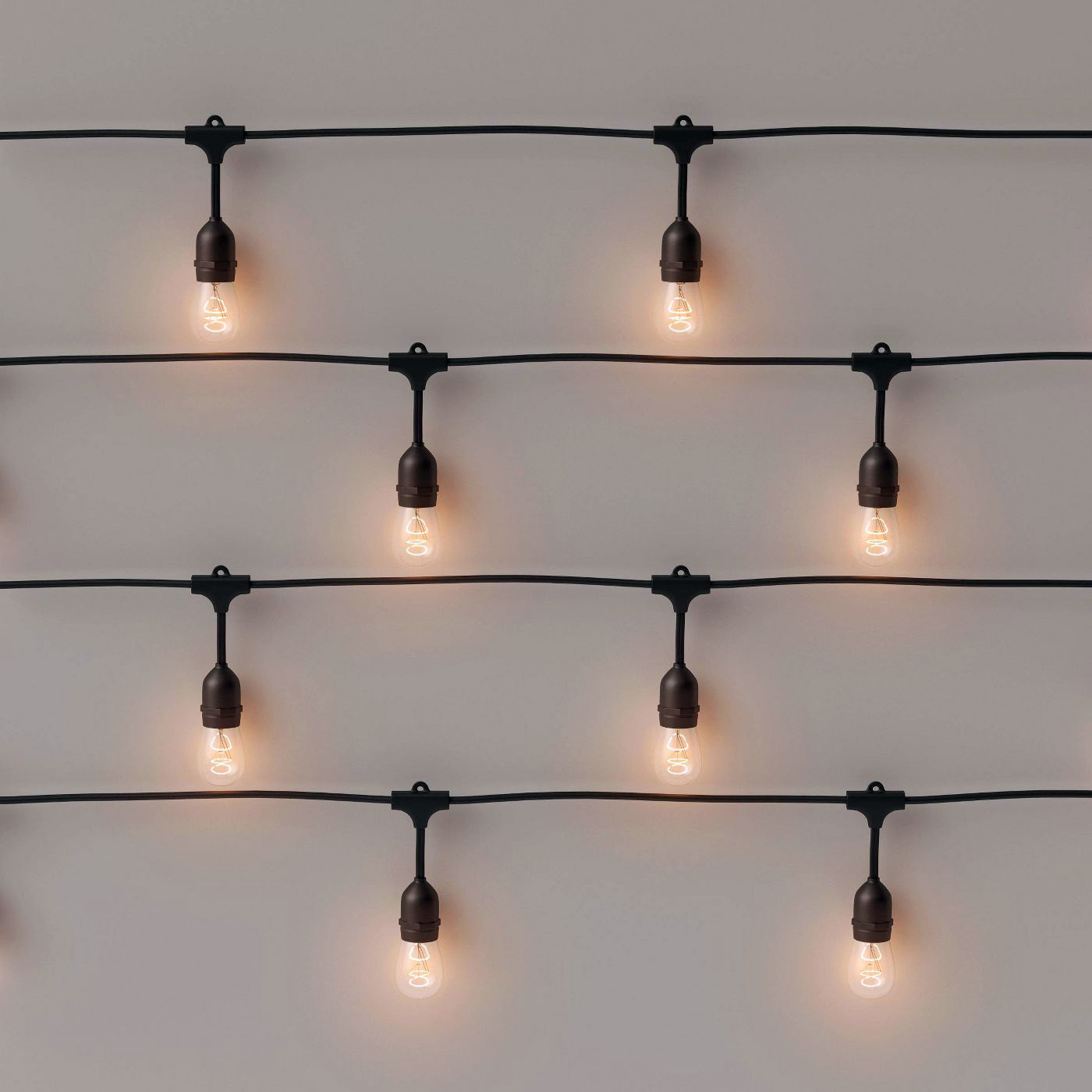 smith and hawken 10ct string lights clear