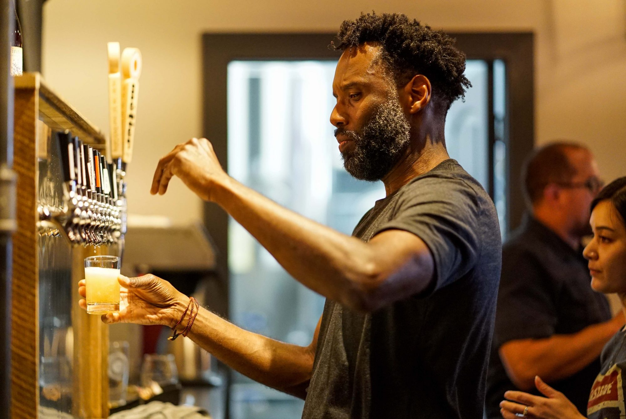 Rodney Hines, owner of Metier Brewing Co.