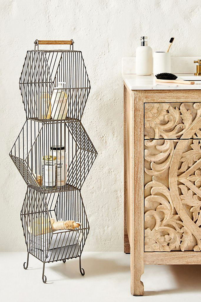 anthropologie clancy basket tower