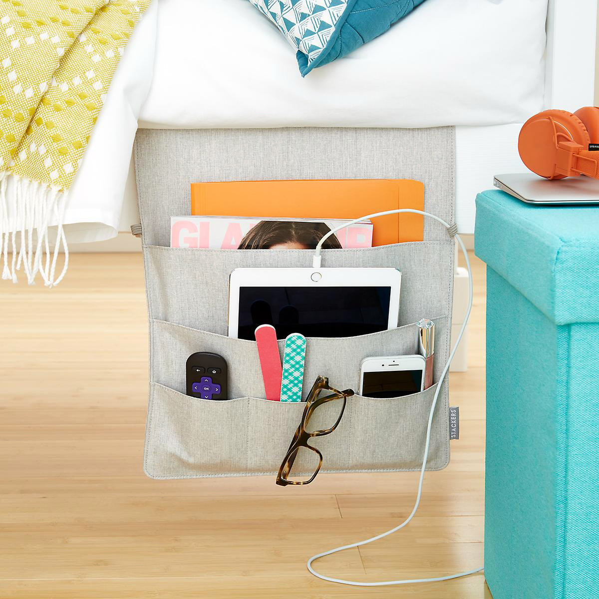 stackers bedside storage caddies