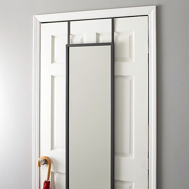 crate and barrel over the door mirror