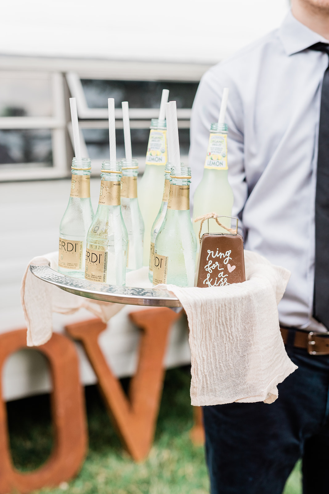 Individual Drinks for Micro Wedding