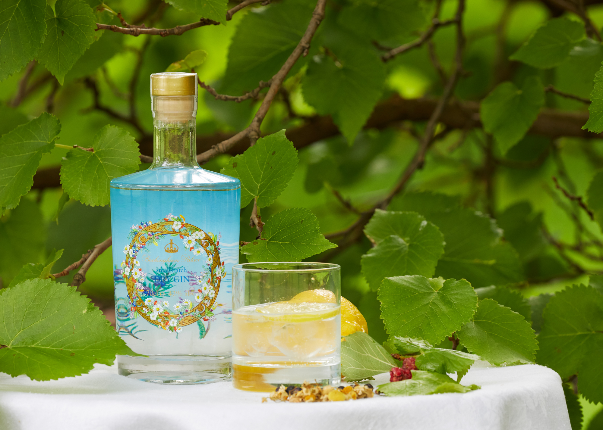 Gin created for Buckingham Palace