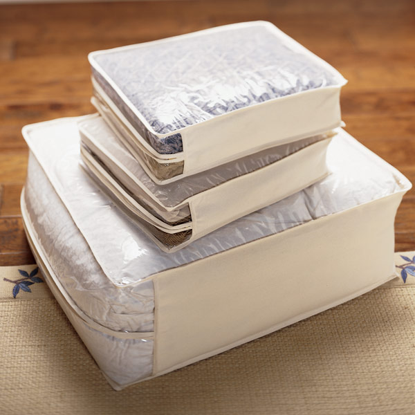 cotton under the bed storage bags