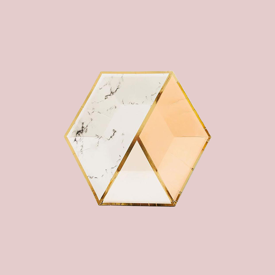 Eco-Friendly Geometrical Blush Collection