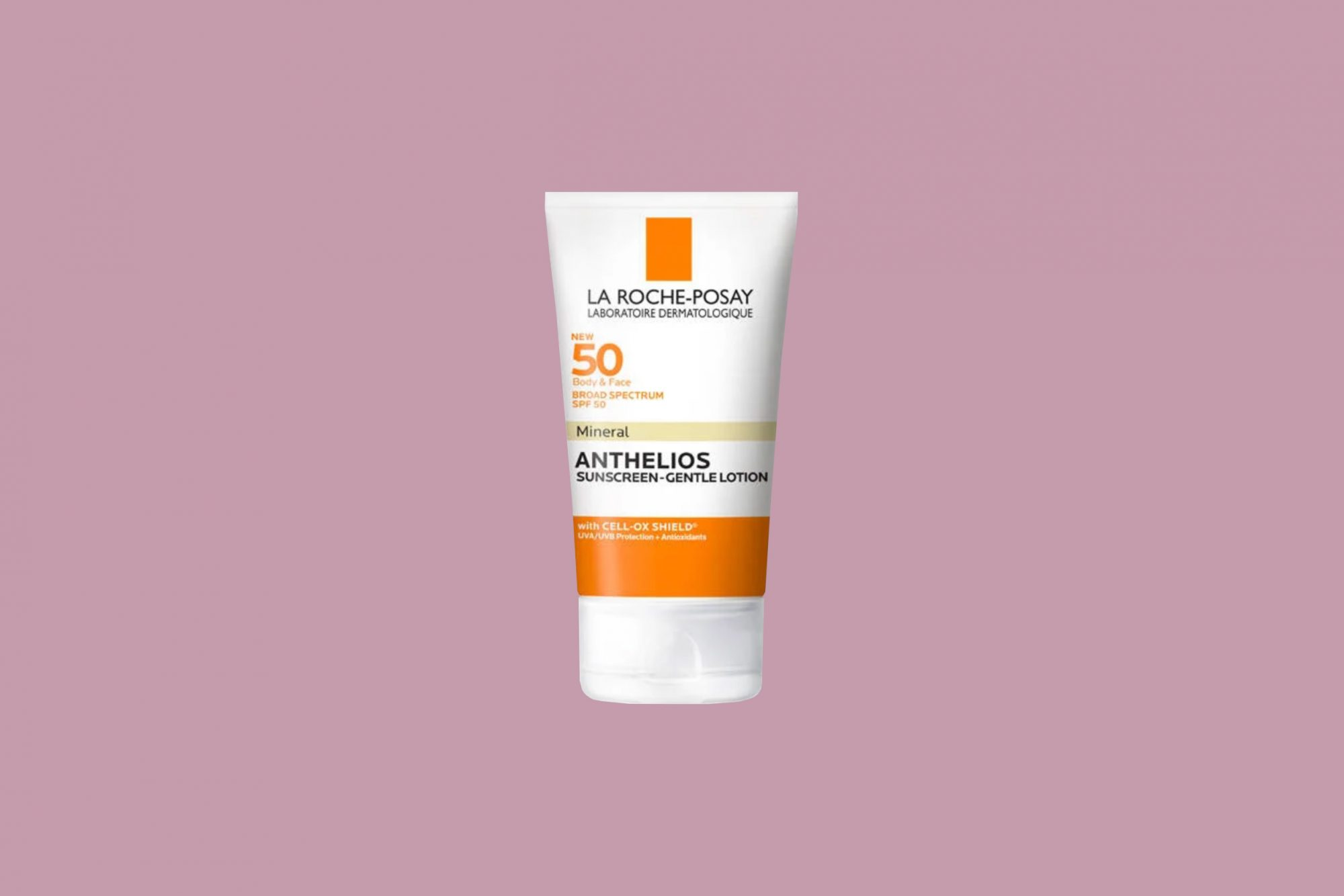 """LaRoche Posay """"Anthelios"""" Body and Face Mineral Sunscreen with SPF 50"""