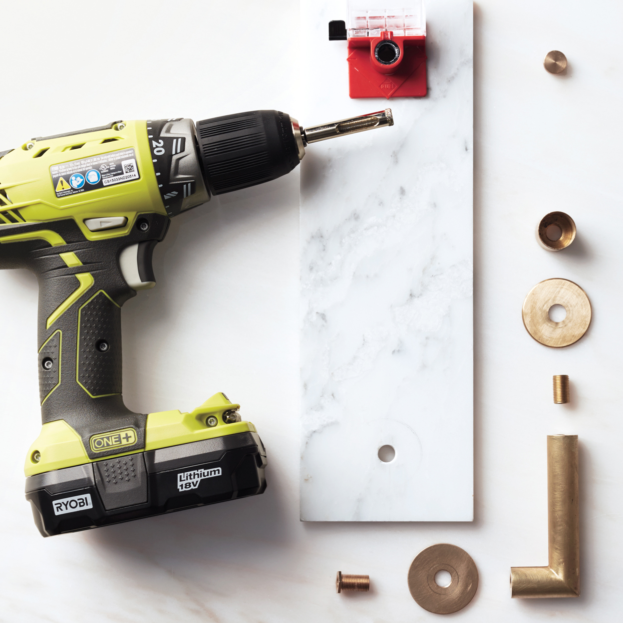 power drill with other materials