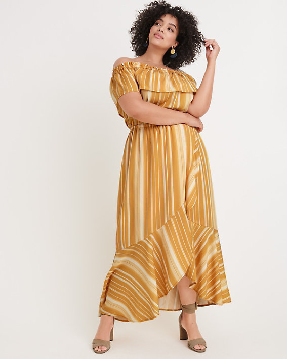 "Ryllace ""Rio"" Off-the-Shoulder Dress"