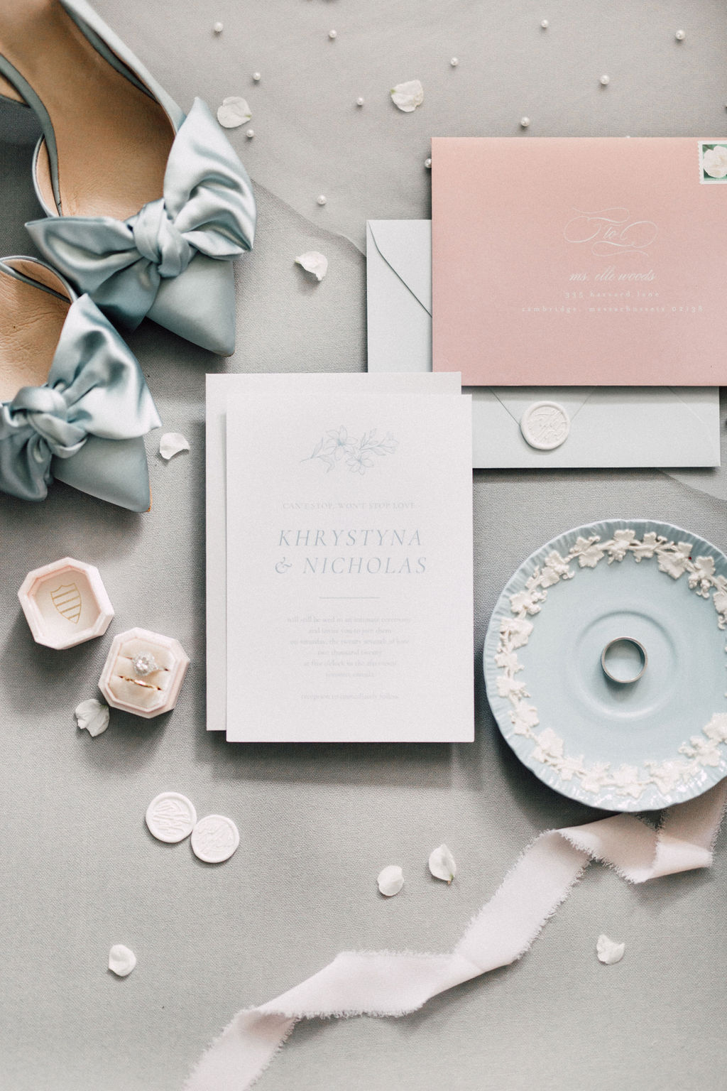 khrystyna nick wedding invites