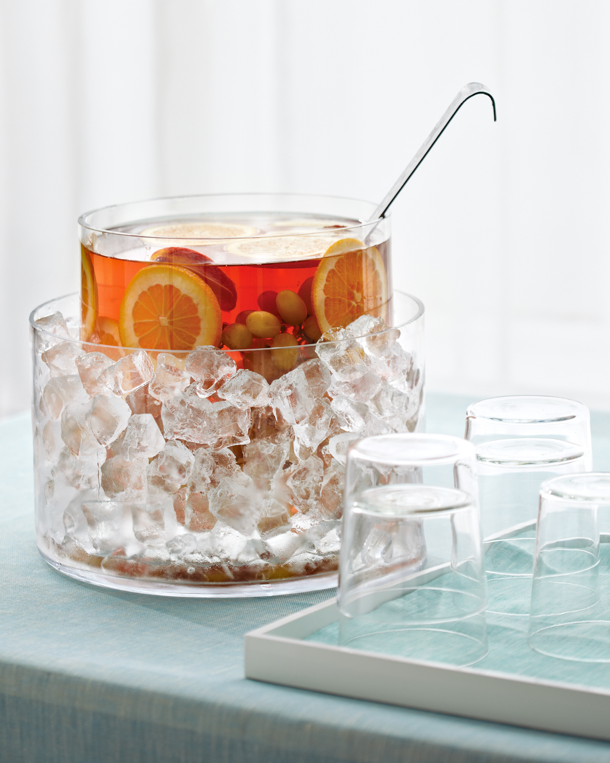 ice bucket with punch in it