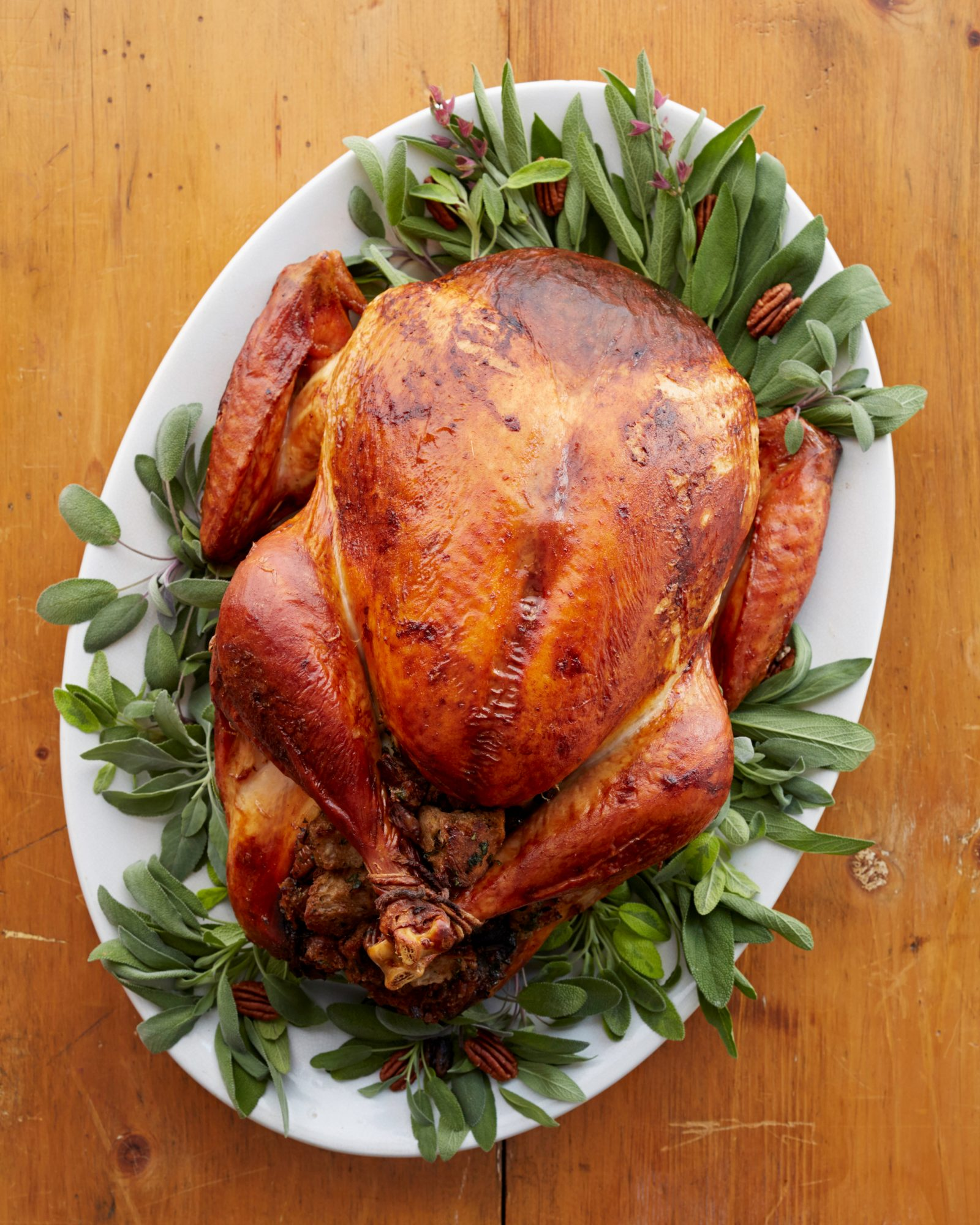 Turkey with Herbs