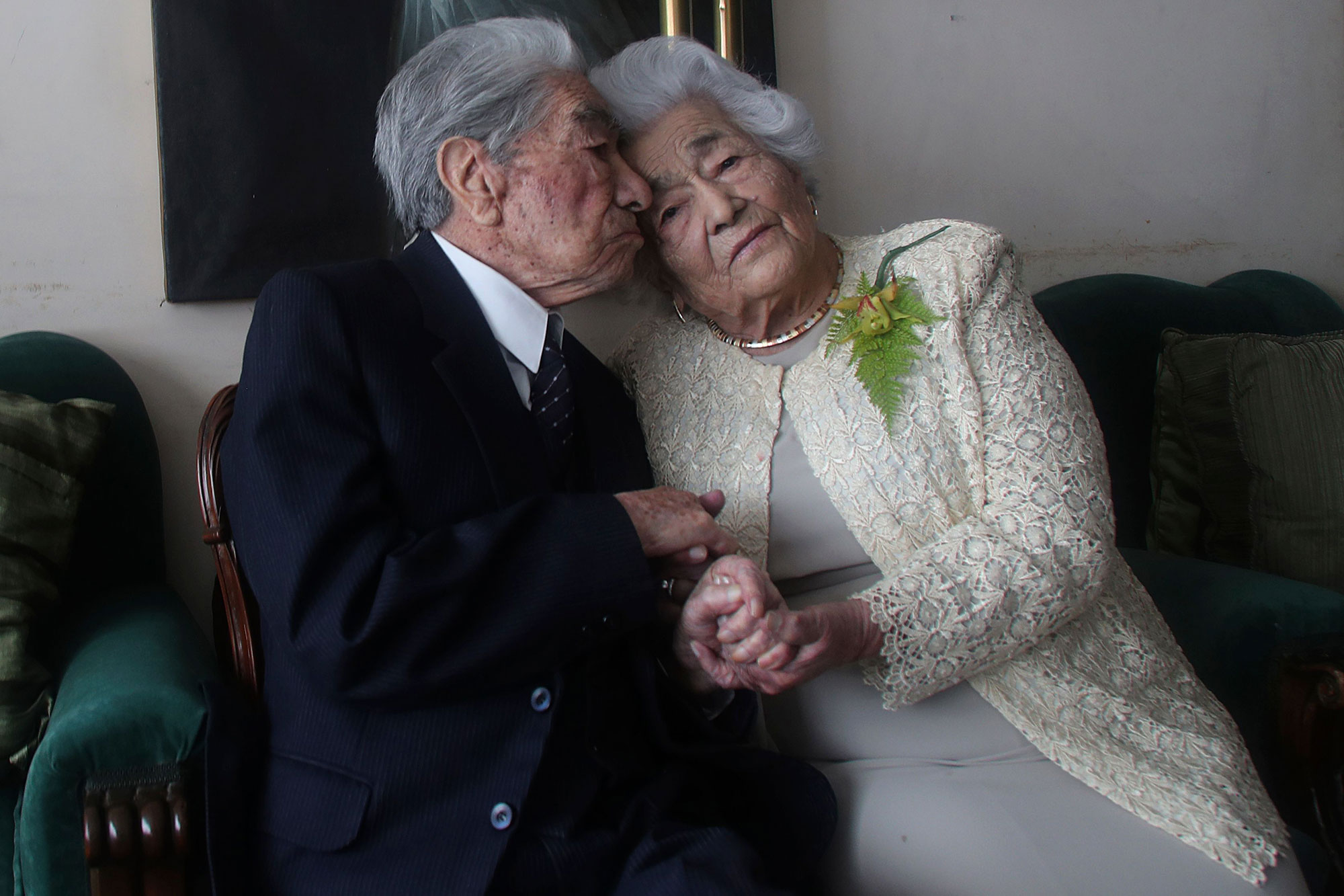 Oldest Married Couple, Quito, Ecuador