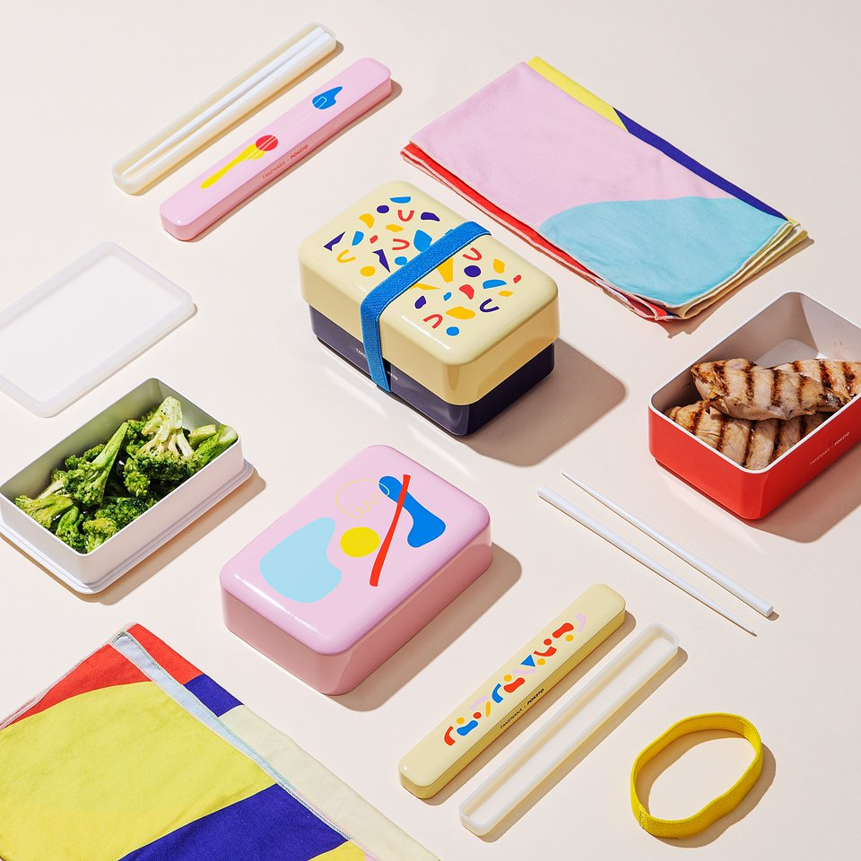 Colorful Bento Box