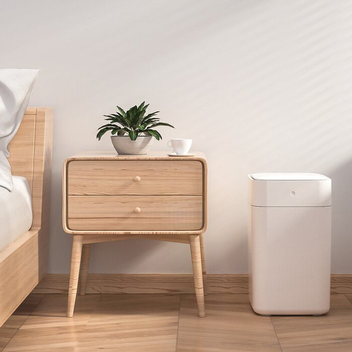 TOWNEW Electric Self-Sealing and Self-Changing Kitchen Motion Sensor Trash Can