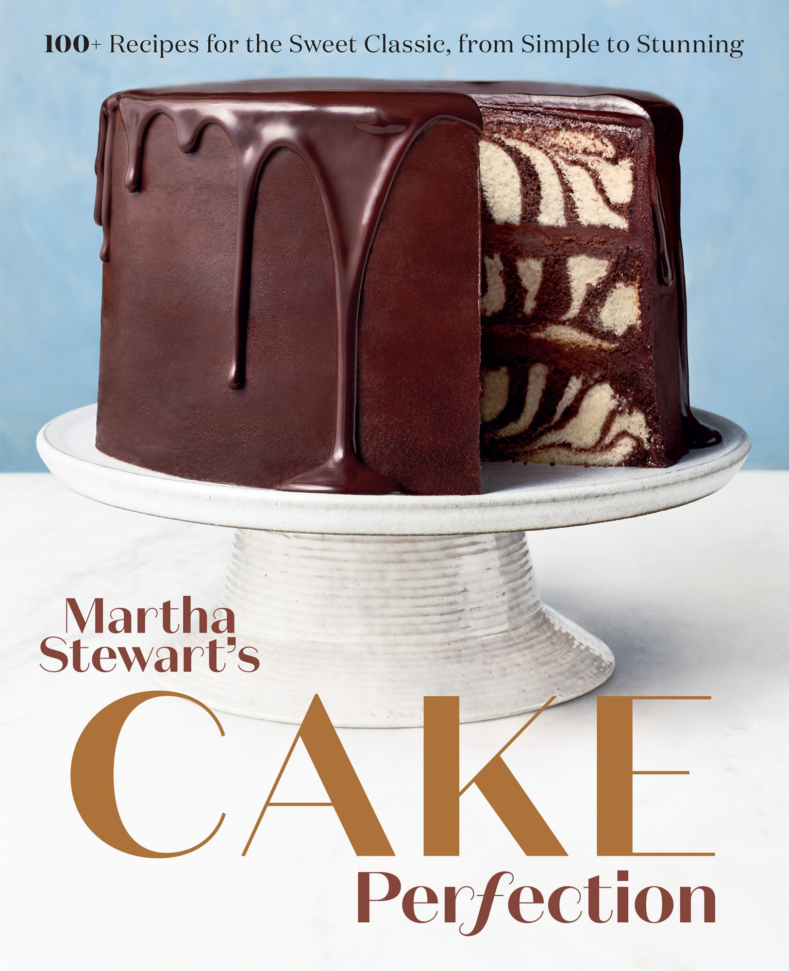 cover of Martha Stewart's Cake Perfection book