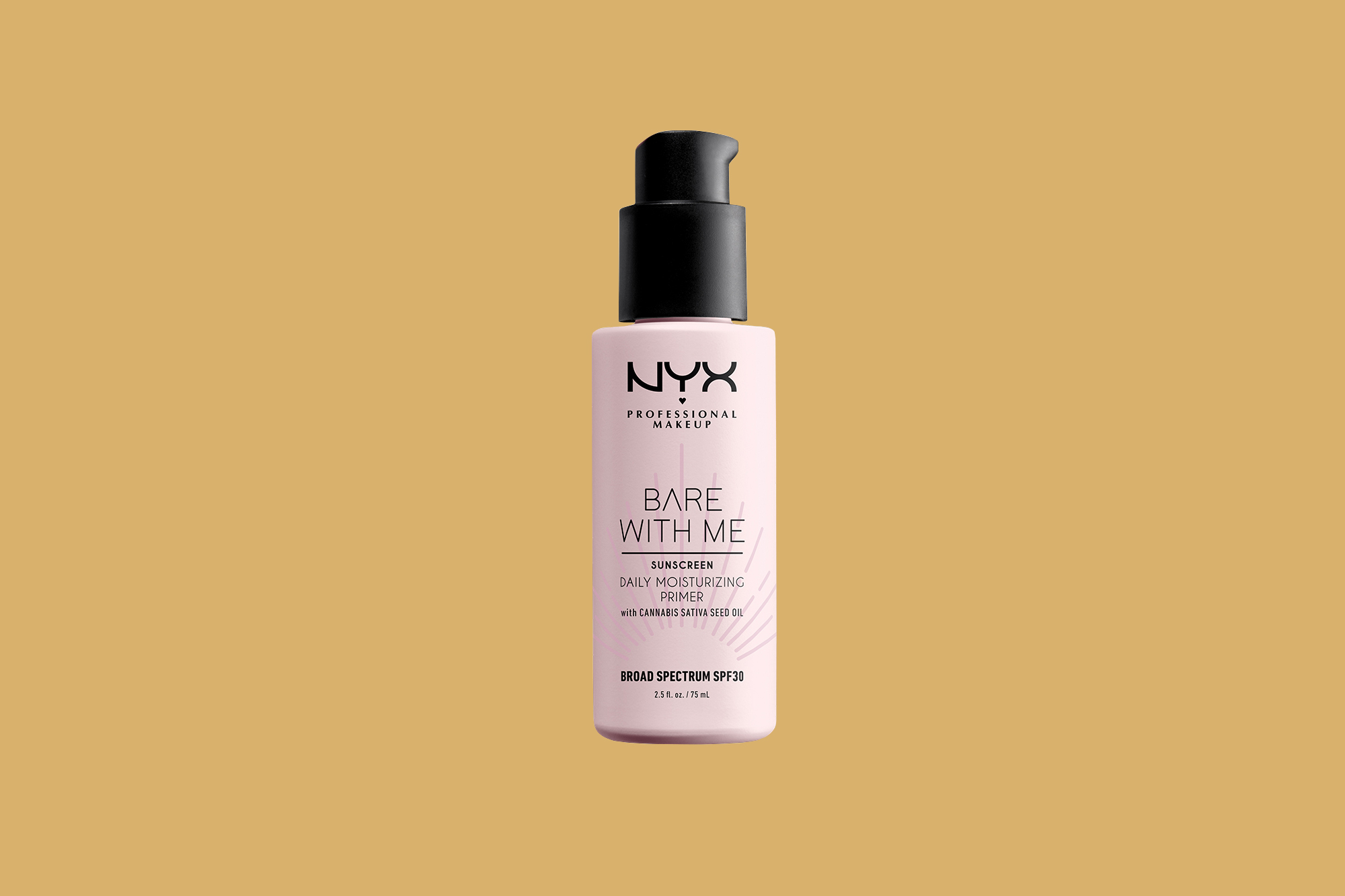 nyx bare with me daily moisturizing primer
