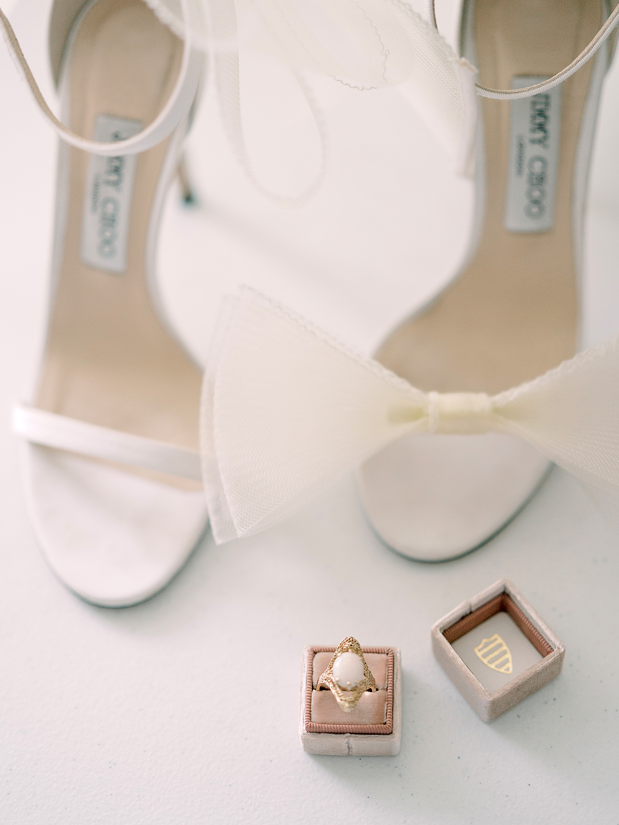marina evan wedding accessories ring shoes