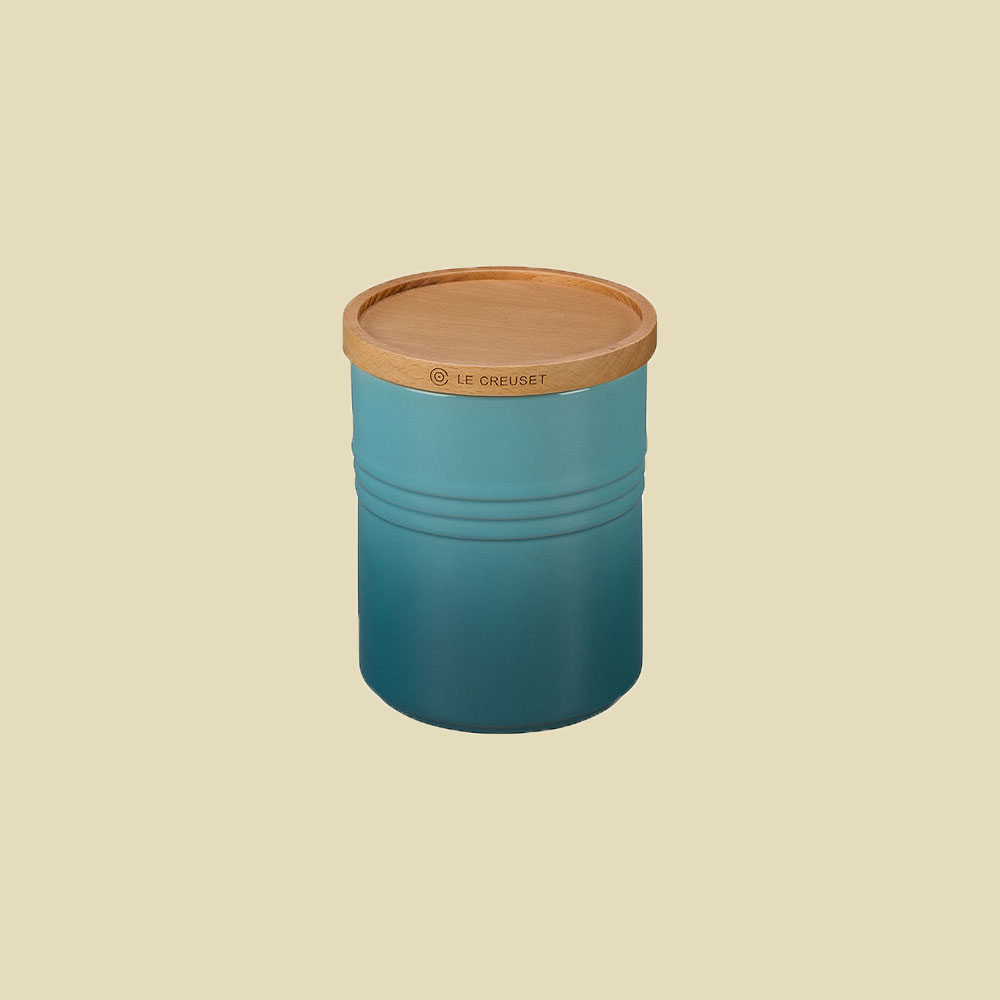 Le Creuset Canister in Caribbean