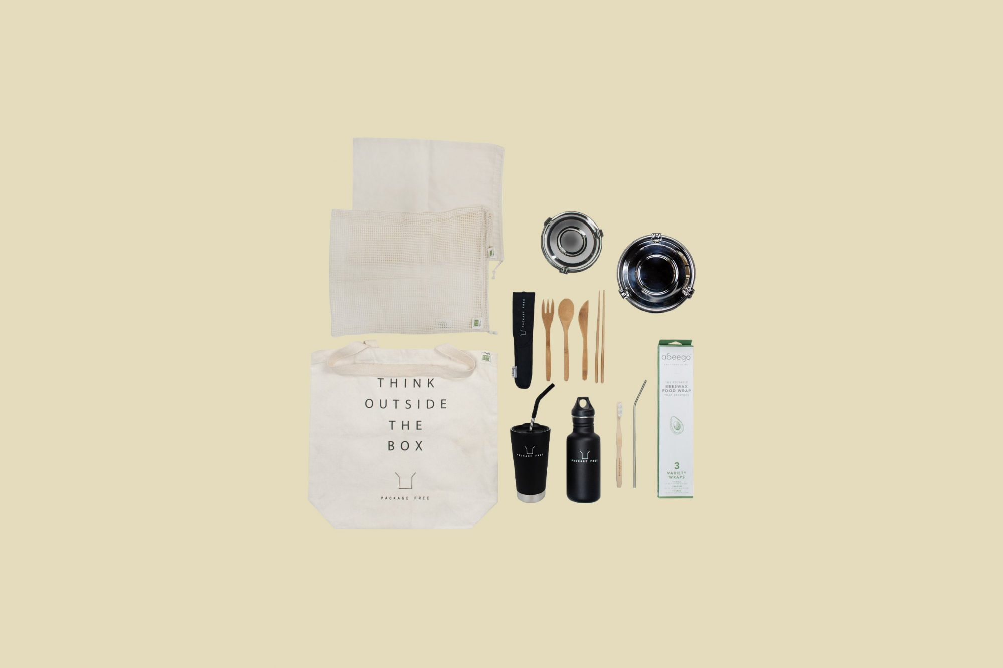 Package Free Zero-Waste Starter Kit