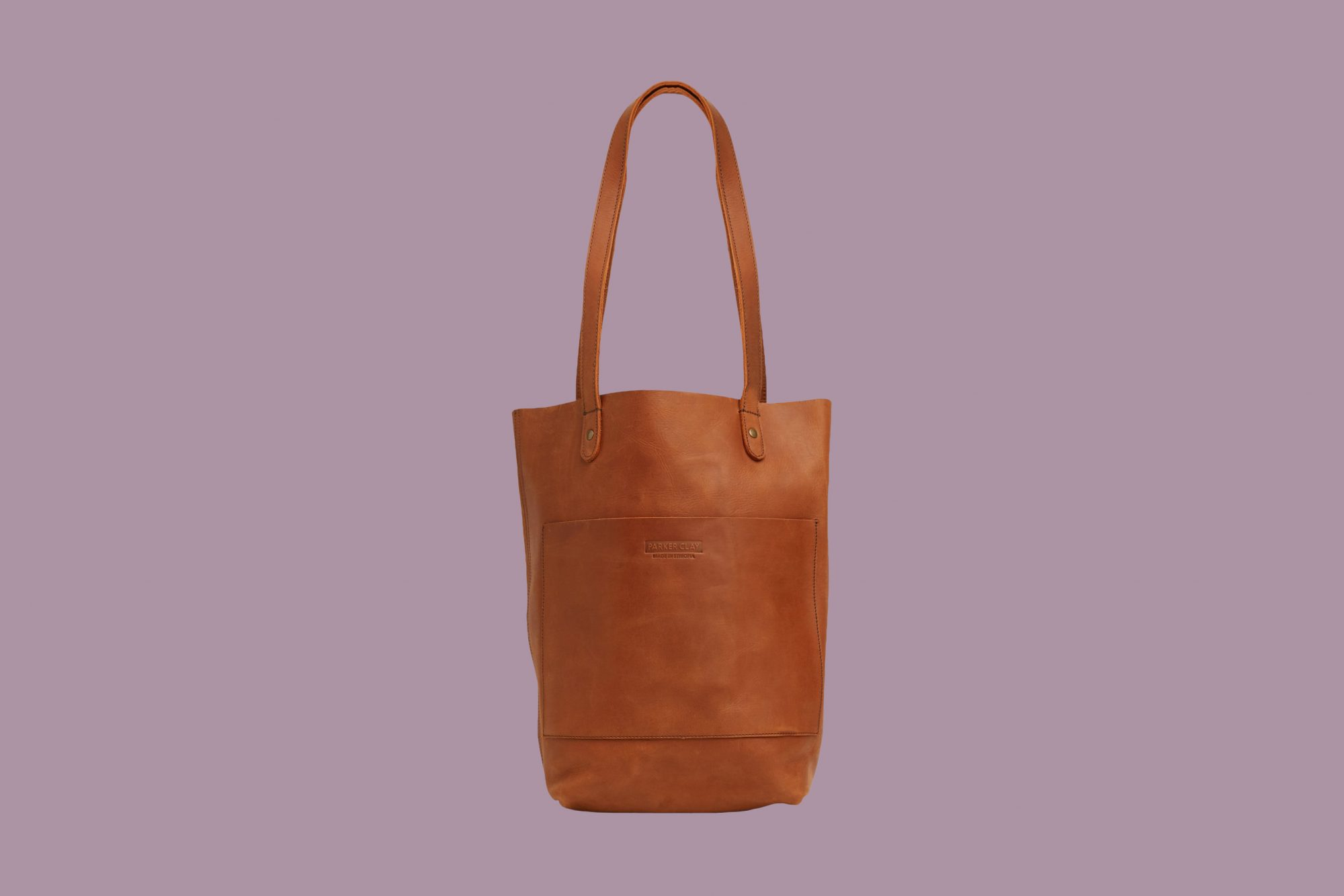 Sustainable Leather Tote