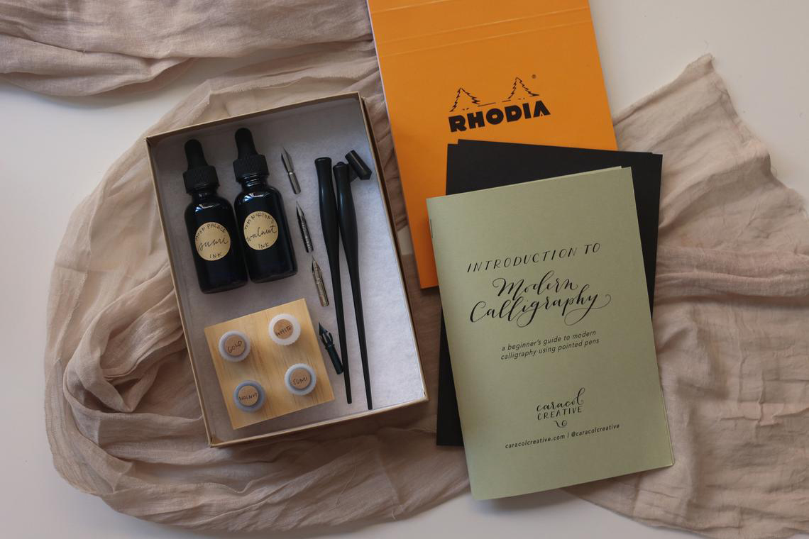 CaracolCreative Deluxe Modern Calligraphy Set for Beginners