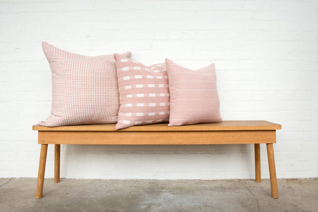 Bolé Road Aman Pillow in Dusty Rose