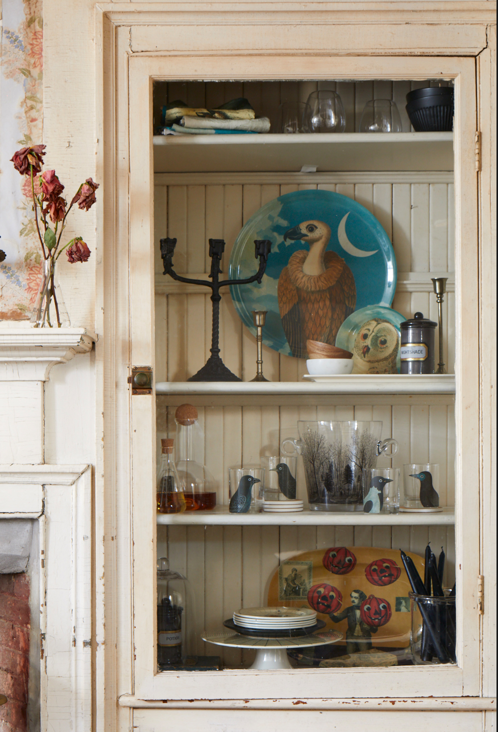 john derian halloween collection for target cabinet