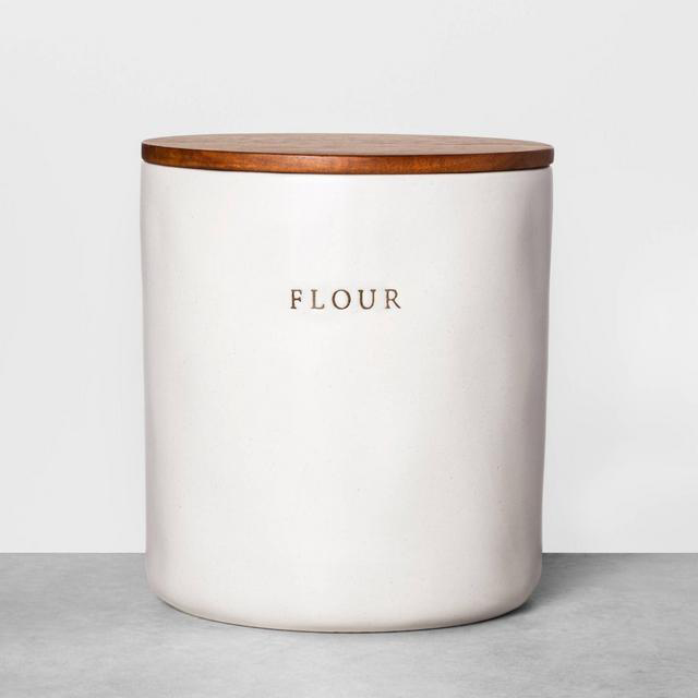 Hearth & Hand with Magnolia Stoneware Flour Canister