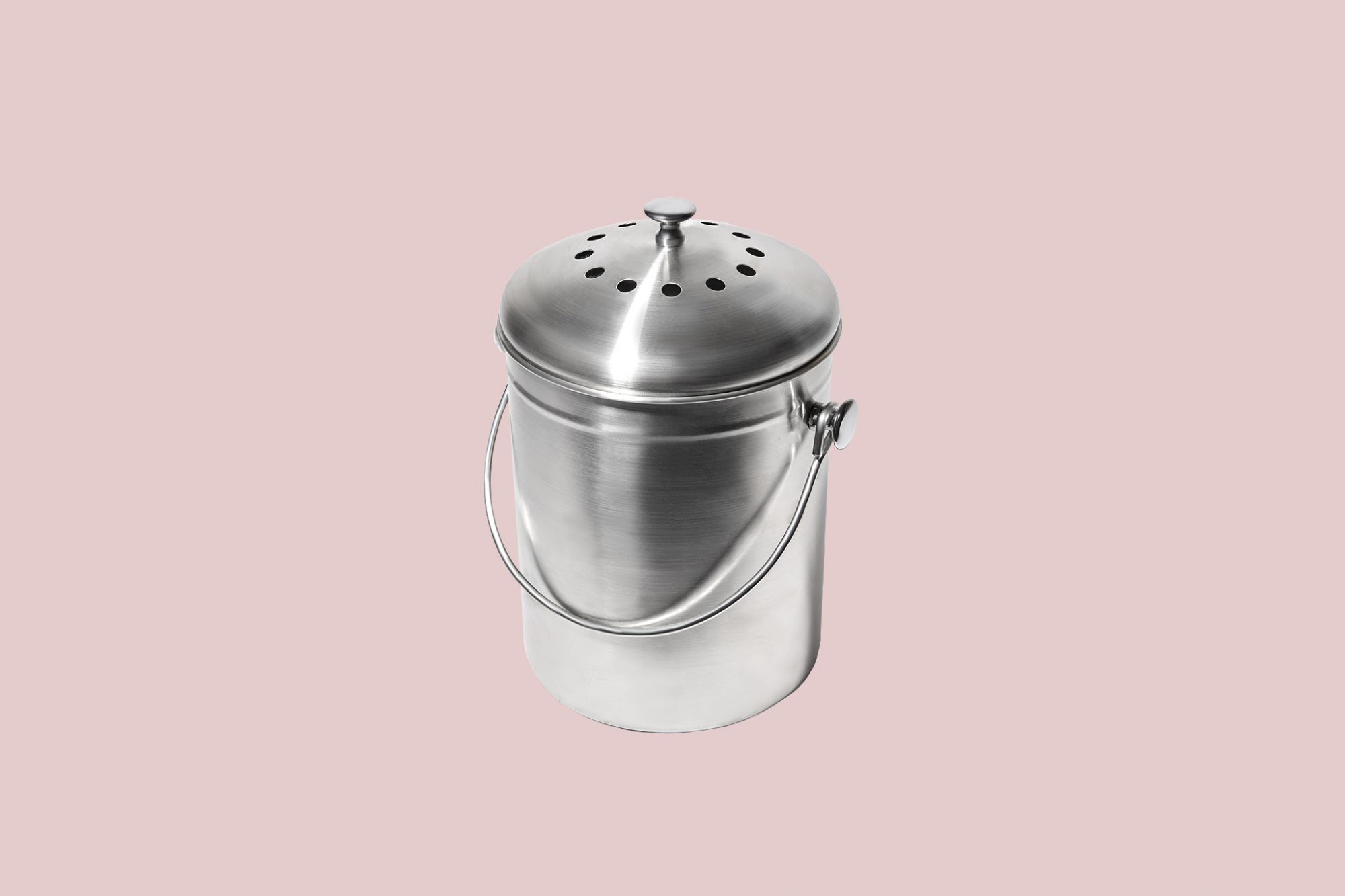 package free shop stainless steel countertop compost bin
