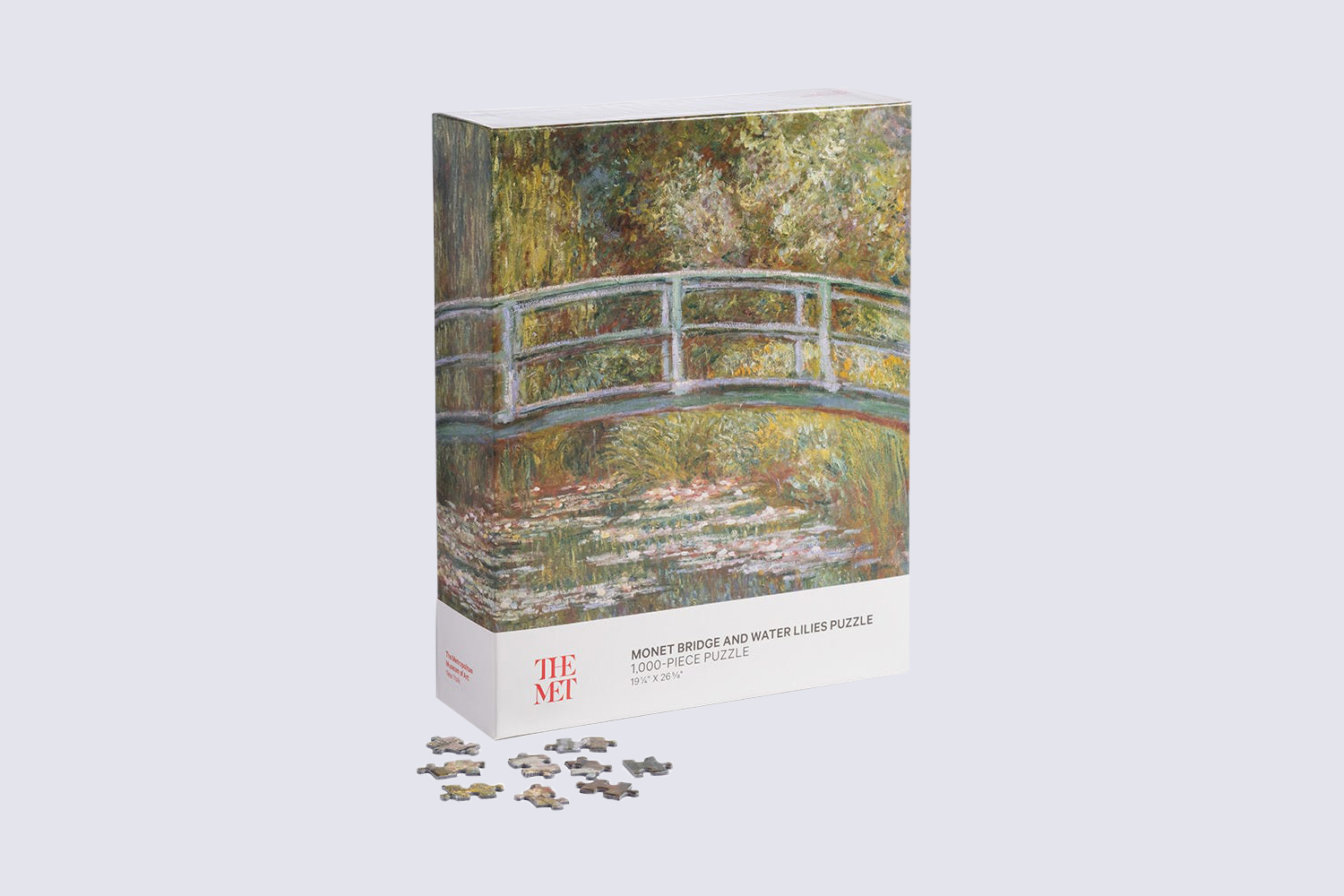 The Met Monet Bridge and Lilies Puzzle