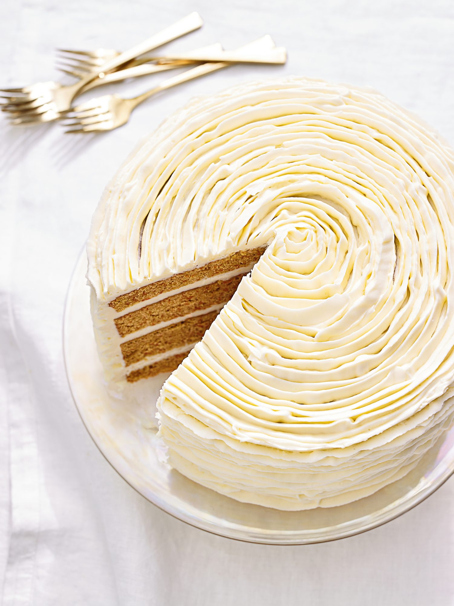 Martha Stewart Cake Perfection Carrot Cake with White Chocolate Frosting
