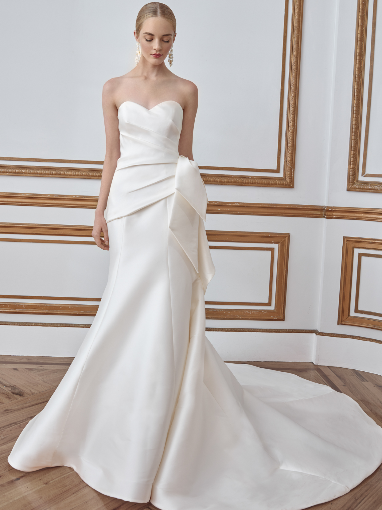 sareh nouri sweetheart trumpet wedding dress fall 2021