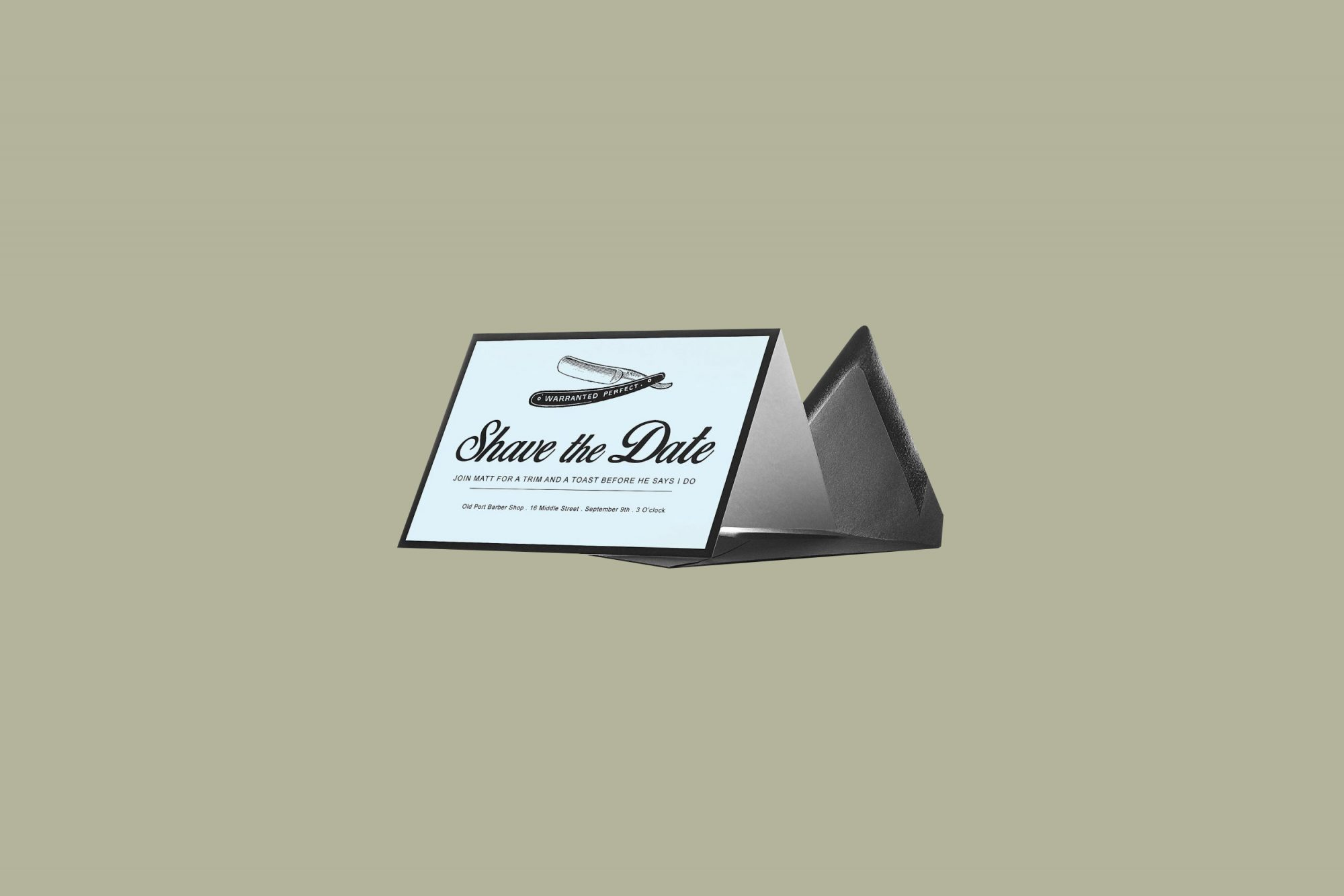 msave the date cards shave the date