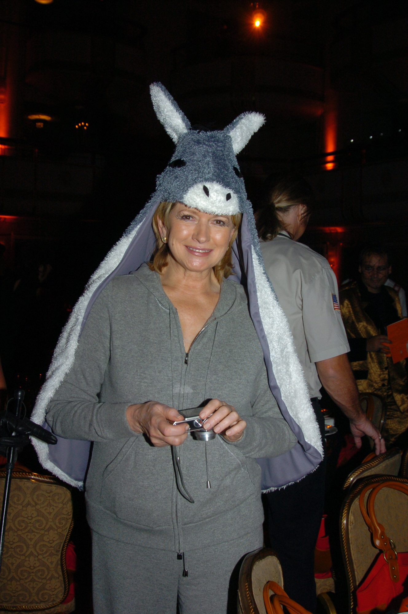 Martha Stewart at Bette Midler's Annual Hulaween Gala benefit