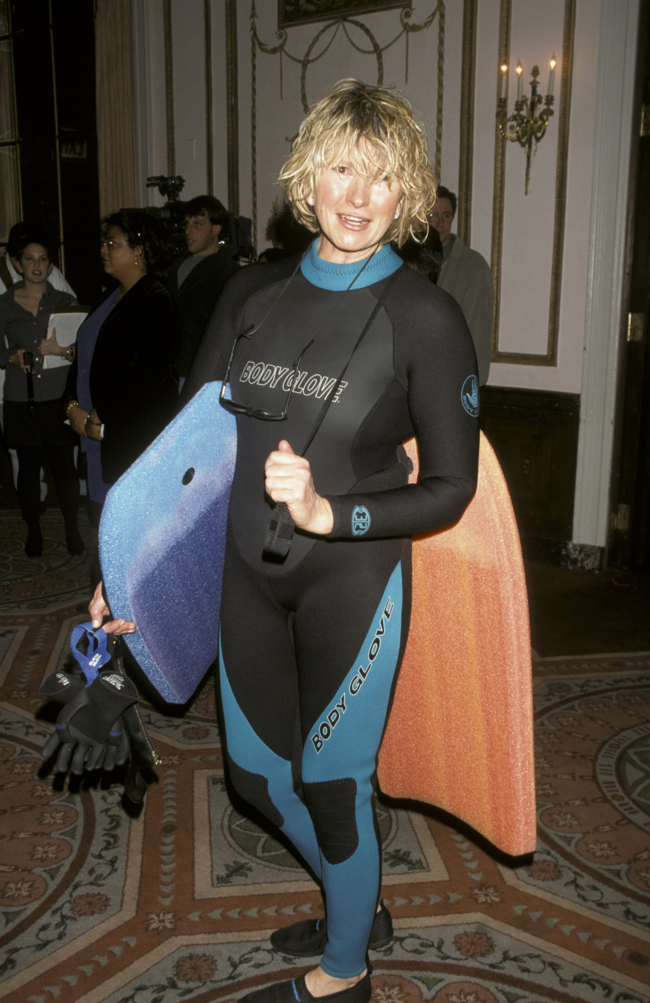 Martha Stewart at Bette Midler's 2nd Annual Halloween Ball for New York Restoration Project