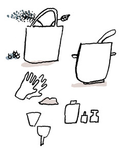 make your own ink step 1