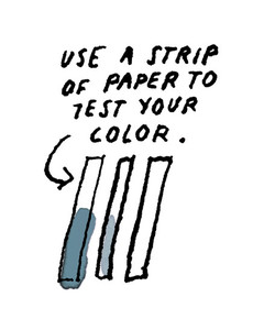 make your own natural ink step 3
