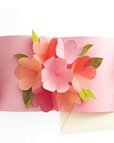 How To Make A Pop Up Card For Mother S Day Martha Stewart