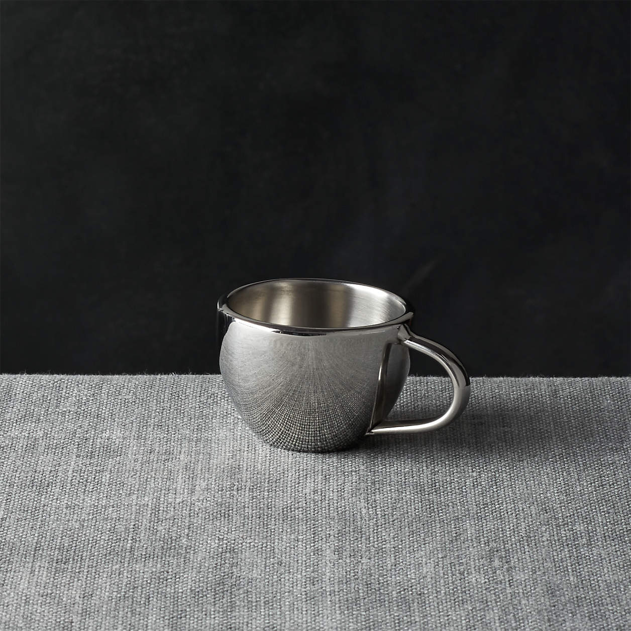 Craft & Barrel Stainless-Steel Espresso Cup