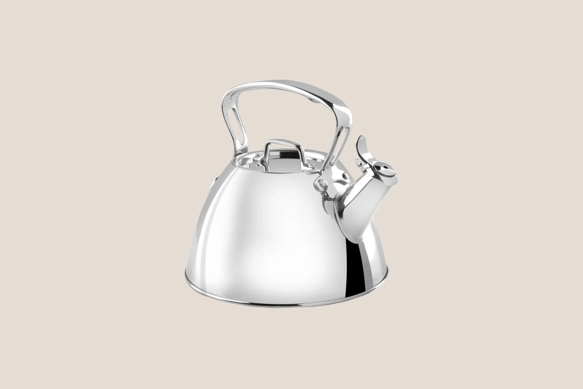 All-Clad Two-Quart Stainless Steel Tea Kettle