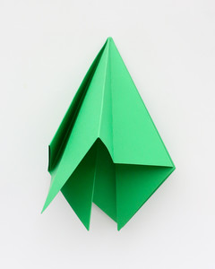 large origami trees